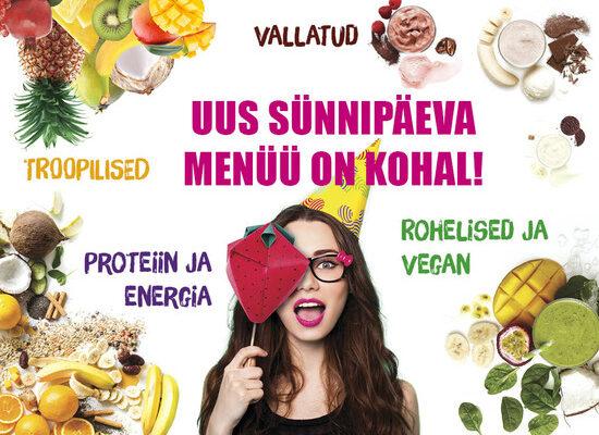 Värske välimus, mõnusad maitsed, sama tervislik – Boostis on uuenenud menüü!